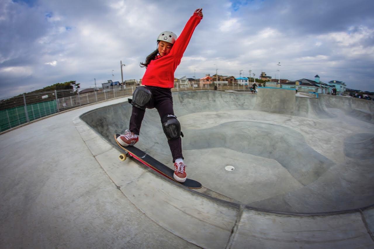 MURB公式アスリート溝手 優月(スケートボード)